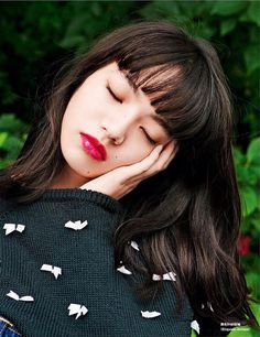 Komatsu Nana 小松菜奈 for GRAZIA China magazine - August 2016 Source instagram konichan7