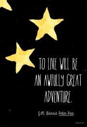 Peter Pan quote - Cardigan Way