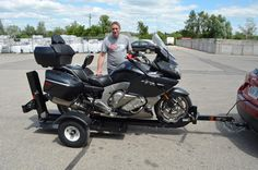 Stinger Folding Trailer  (Includes:Spare Tire, Running Boards and FREE SHIPPING!)