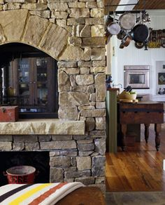 Cozy Country Fireplace