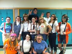 Nerd day for homecoming(: