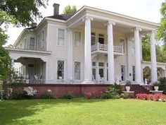 images about Houses on Pinterest   Victorian Houses    Everything you have dreamed of   a home of beauty  grace and grandeur of the Old South all under one roof  This gorgeous Greek Revival   impressive Ionic