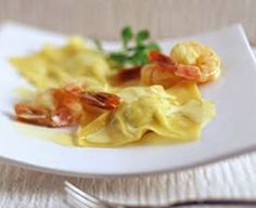 Want more than just your average dip/sauce/topping? Then you'll love our herbed ravioli with saffron prawn sauce recipe. Sauce Recipes, Seafood Recipes, Dinner Recipes, Prawn Sauce, Rice Grain, Cream Cheese Recipes, Pasta Noodles, Yummy Food, Meals
