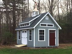 12' x 20' Garden Elite with a mini shed dormer by Kloter Farms