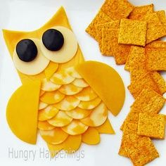Hoot Owl Baby Shower Cakes | Owl Cheese Appetizer - Great for an owl baby shower or birthday party!