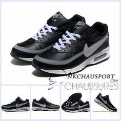 online retailer 13e85 d3318 czech nike air max classic bw black grey yellow quartz 57579 2c653