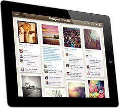 Pinstagram, app lançado para iPad, mistura duas redes sociais de fotos