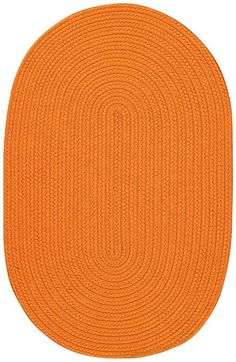 Tropical Rug in Orange by Capel Rugs, Round & Oval Rugs,Braided Rugs,Outdoor Rugs, Rugs for Children. Like the price, comes in several colors.