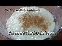 ..arroz con leche de soya..