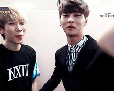 Hakyeon tries to take charge, Eunkwang just ignores Changsub. That's what exposure does to you Btob Changsub, Sungjae, Tvxq, Minhyuk, N Vixx, Korean K Pop, K Pop Star, South Korean Boy Band, Pop Group