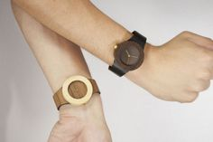 Teak & Bamboo wooden watches, inspired by nature - analogwatchco.com.