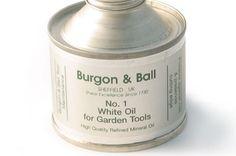 burgon + ball - garden tools oil