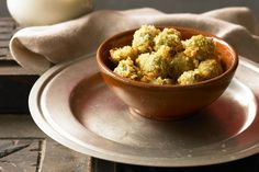Fried Okra with Cornmeal Coating. -*****Adding Cajun seasoning or at least Old Bay is a must do - Brandon