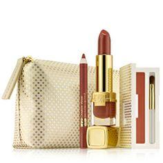 Estée Lauder Limited Edition Gift Set: Lush Lips Caramel Nudes #PerfectPresents