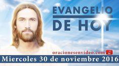 Evangelio de Hoy Miercoles 30 de Noviembre 2016  os haré pescadores de h...