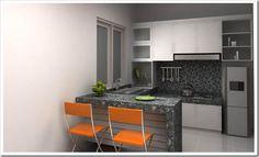 desain ruang makan dan dapur sederhana