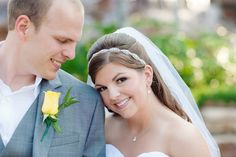 """Bridal Wedding Tiara, Headpiece, Headband, Hair Accessory,  WHITE or IVORY satin ribbon. Silver Beads, Crystals, Rhinestones- """"Jenna"""". $33.00, via Etsy."""