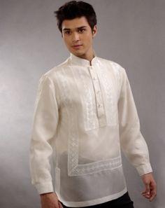 philippine national clothes - Men