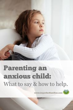 Tips for helping you parent a worried or anxious child! Help them learn calming skills, how to cope with transition and much more!