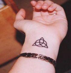 Tatuajes de la triqueta, símbolo celta - Tendenzias.com