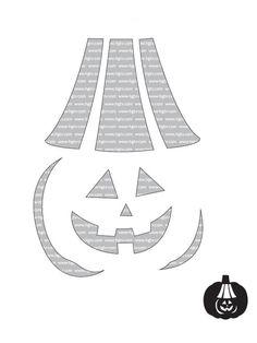 HGTV has 22 beginner pumpkin-carving templates here. Cute!