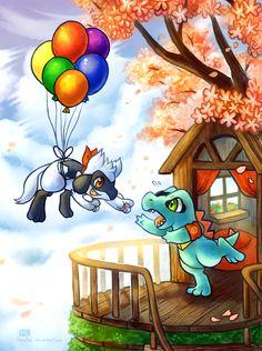 Up by *Haychel on deviantART #pokemon #up #nintendo