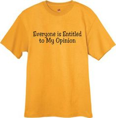 THIS IS SO LEVI! Mens Tshirt / Everyone is entitled to my opinion by TheRedCaboose, $9.99