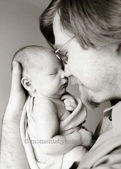 Newborn and Daddy
