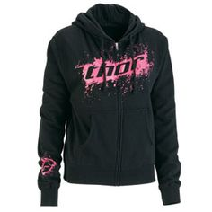 Shop for Jackets and Sweatshirts, like Thor Prima Ladies Zip-Up Hooded Sweatshirt at Rocky Mountain ATV/MC. We have the best prices on dirt bike, atv and motorcycle parts, apparel and accessories and offer excellent customer service. Motocross Love, Motocross Girls, Comfortable Outfits, Casual Outfits, Girl Outfits, Cute Outfits, Perfect Wardrobe, My Wardrobe, Sweater Hoodie