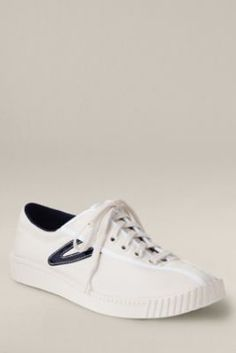 Women's Tretorn Nylite Sneaker from Lands' End Canvas.  My sister @Heather Karshner wore these ALL the time!