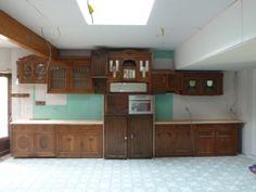 our kitchen@ de stuyverij in progress (nov 2013)