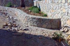 paredes de piedra en jardines - Buscar con Google