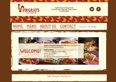 New website for @VirgiliosGrill.