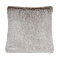 Helen Moore Luxury Faux Fur Latte Cushion