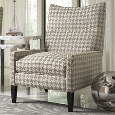 Cade accent chairs, living room furniture, 2015 CORT Signature Collection