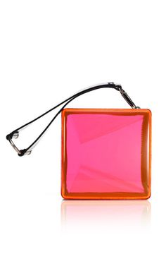 Kenzo Accessories Acrylic Square Clutch
