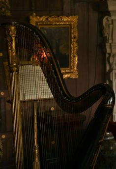 music and harp image on We Heart It Sound Of Music, My Music, Jane Austen, Der Klang Des Herzens, Mansfield Park, Music Express, Musicals, Tumblr, Beautiful