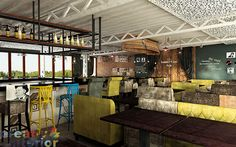 Summer Time caffee bar by Creativ Interior