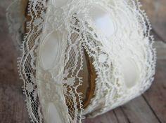 Vintage Ivory Lace Ribbon