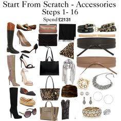Start From Scratch Accessories - Step 1 - 16 by charlotte-mcfarlane on Polyvore featuring Mode, ALDO, Office, Jessica Simpson, J by Jasper Conran, Minnetonka, Chinese Laundry, Steve Madden, Carvela and Vince Camuto