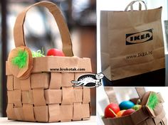 Recycled+Paper+Bag+BASKET