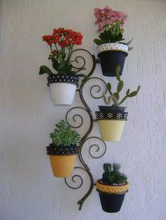 suporte jardim suspenso decoração