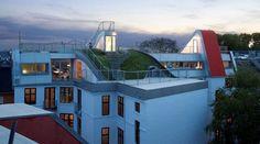 Jardin sur les toits à Copenhague