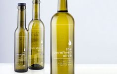 The Unrefined Olive branding by The Small Monsters.