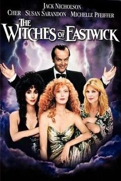 The Witches of Eastwick  ONE OF MY MOST FAVORITE HALLOWEEN MOVIES ALONG WITH PRACTICAL MAGIC AND QUEEN OF THE DAMNED IS BEETLE JUICE AND HOCUS POCUS AND THE GOONIES