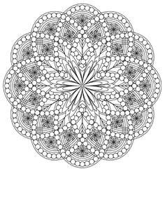 Coloring flower mandalas  Mindful Relexation