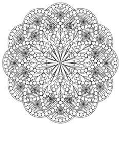 Coloring flower mandalas Mindful Relexation