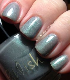 Ashley is PolishAddicted: Pahlish Valley of Ashes - Swatches and Review ♥