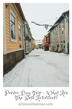 Porvoo Day Trip: What Are The Best Activities? Online Travel, Travel Activities, Travelogue, Best Cities, Day Trips, Travel Photos, Places To Go, Posts, World
