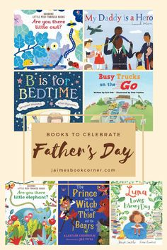 Books to Celebrate Father's Day – Jaime's Book Corner